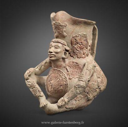 Aztec ceremonial pitcher