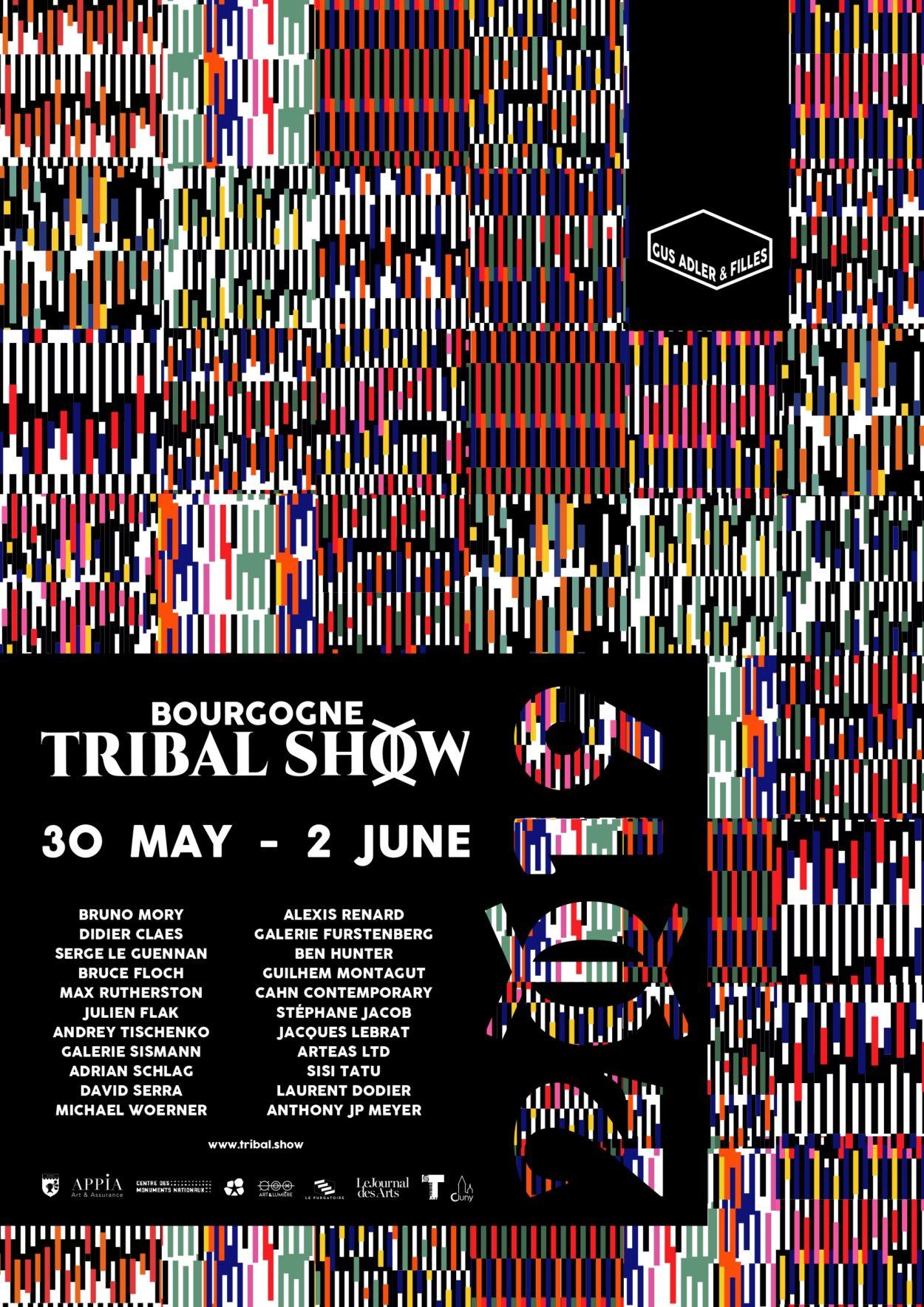 Affiche Bourgogne Tribal Show 2019